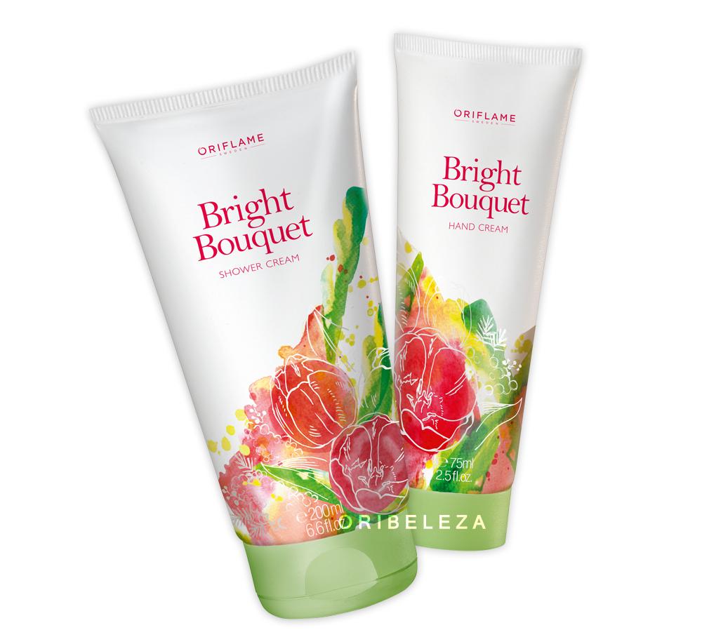 Creme de Mãos e Creme de Duche Bright Bouquet da Oriflame