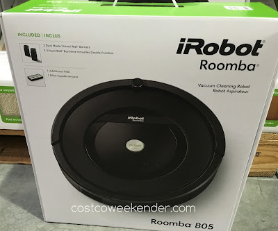 Let the iRobot Roomba 805 Vacuum Cleaning Robot do the work for you, even when you're not at home!