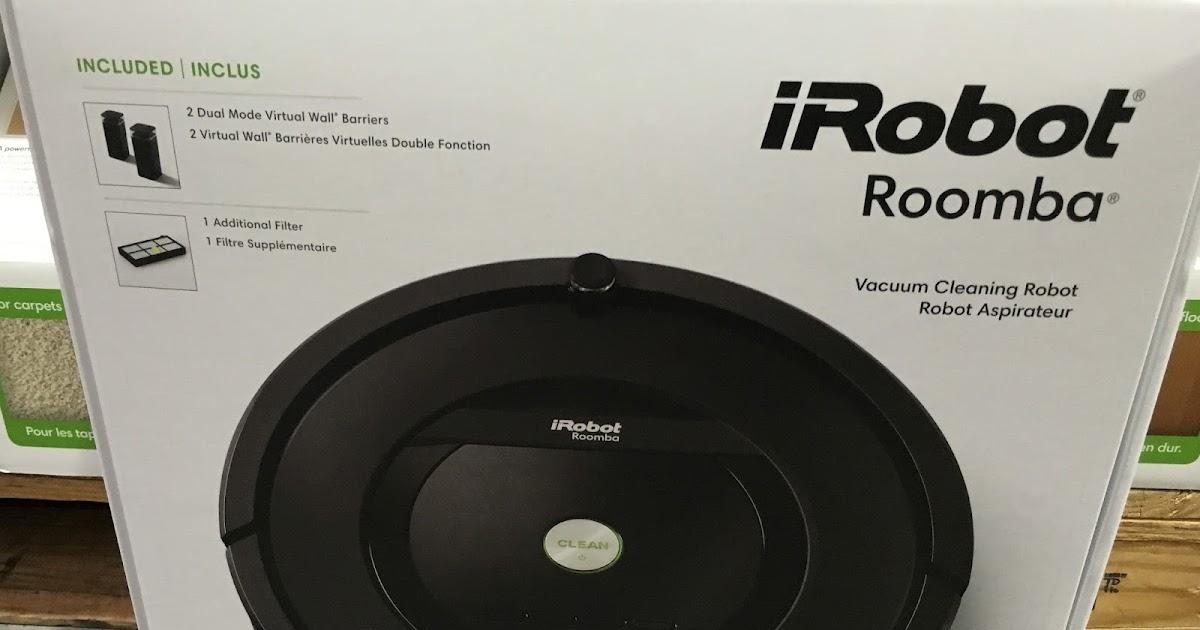 Irobot Roomba 805 Vacuum Cleaning Robot Costco Weekender