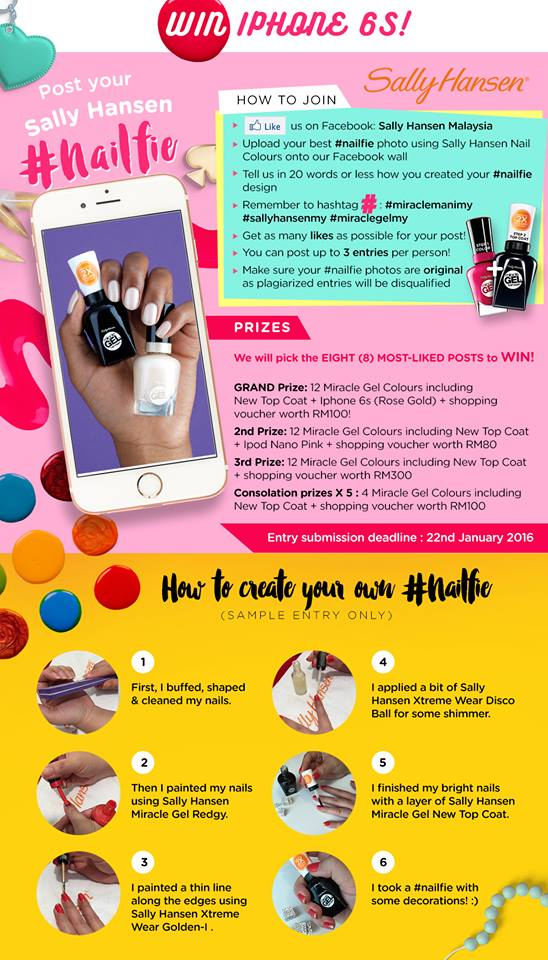 win a chance to win iphone 6s