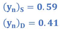Coordenadas de la última etapa del proceso del ejemplo 3