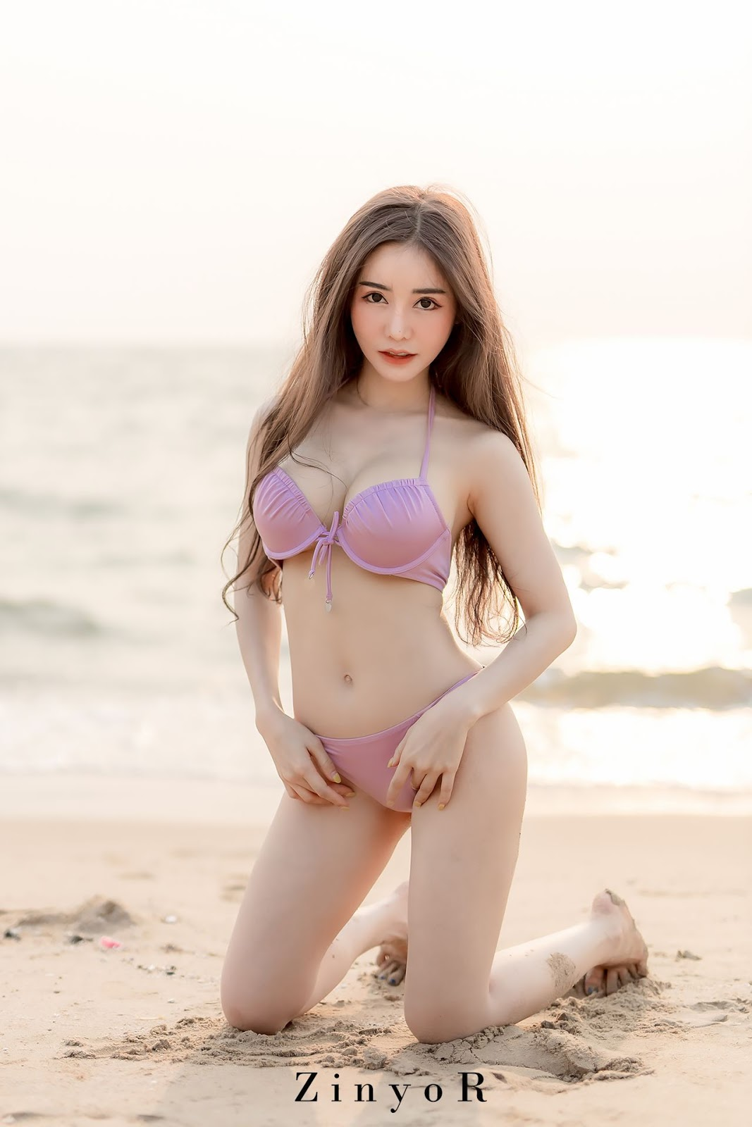 Image-Thailand-Sexy-Model-Blue-Jirarat-จิรารัตน์-ชานันโท-Blue-On-The-Beach-TruePic.net- Picture-5