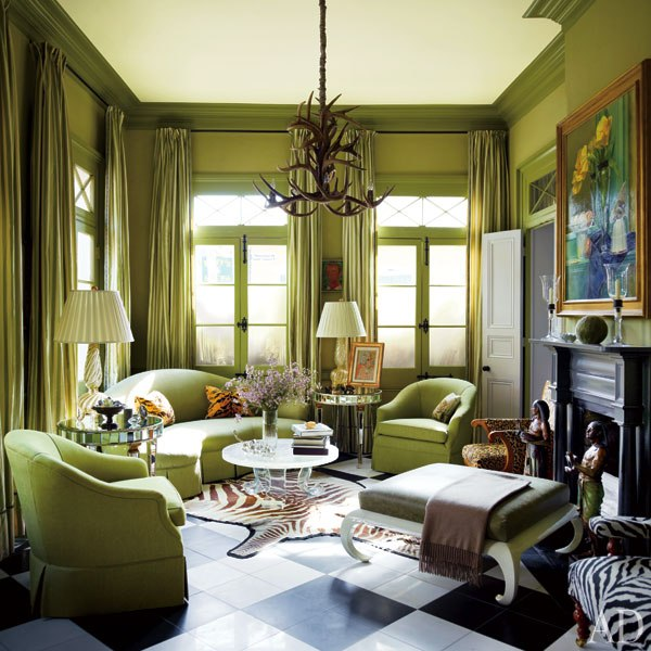 Mix and Chic: Home tour- A glamorous and historic New ...