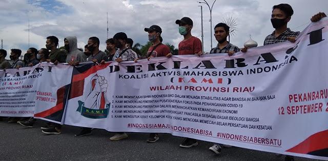 Deklarasi Riau, KAMI Minta Pemerintah Fokus Penanganan Covid-19