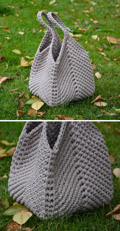 Easy Slouchy Bag - Crochet Pattern