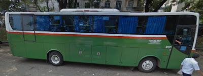 rute bus mayasari bakti ac 34 jurusan Poris Plawad - Blok M