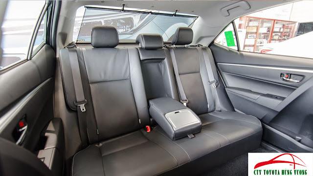 Giá xe, thông số kỹ thuật và đánh giá chi tiết Toyota Corolla Altis 2018 - ảnh 21
