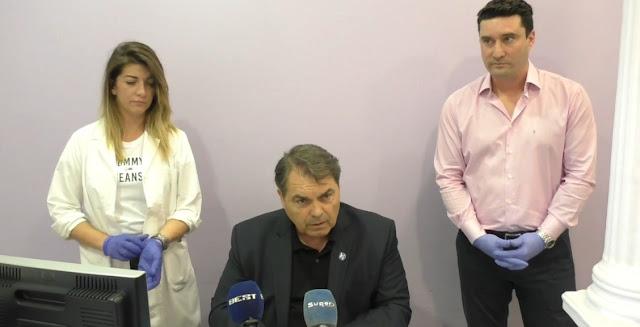 Ξεκίνησαν τα τεστ αντισωμάτων για τους εργαζομένους του Δήμου Άργους Μυκηνών (βίντεο)