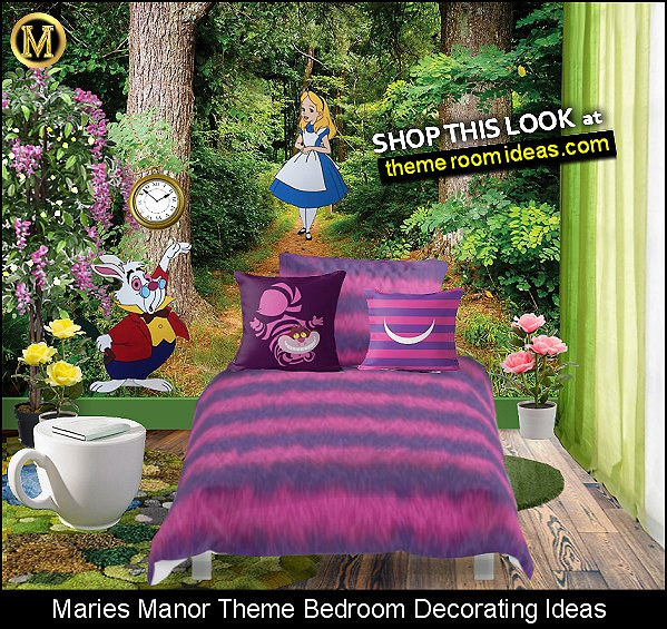 Alice in Wonderland - White Rabbit  props  Cheshire Cat Comforter  Cheshire the cat Throw Pillow