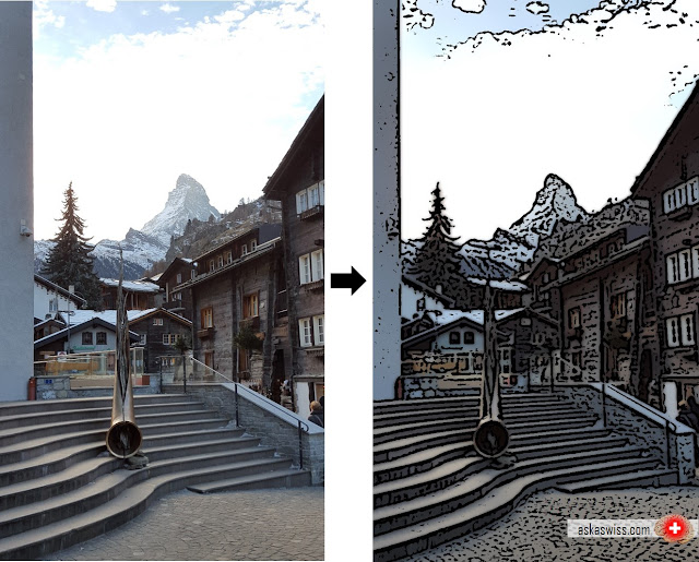 Ask a Swiss: How to create a cool cartoon effect with OpenCV and Python