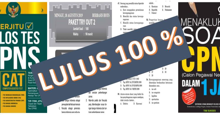 Kumpulan Buku Soal Soal Kunci Jawaban Lulus Cpns 2020 Kherysuryawan Id