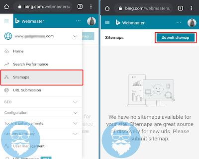 Cara Mendaftarkan Blog Ke Bing Webmaster Dengan Mudah