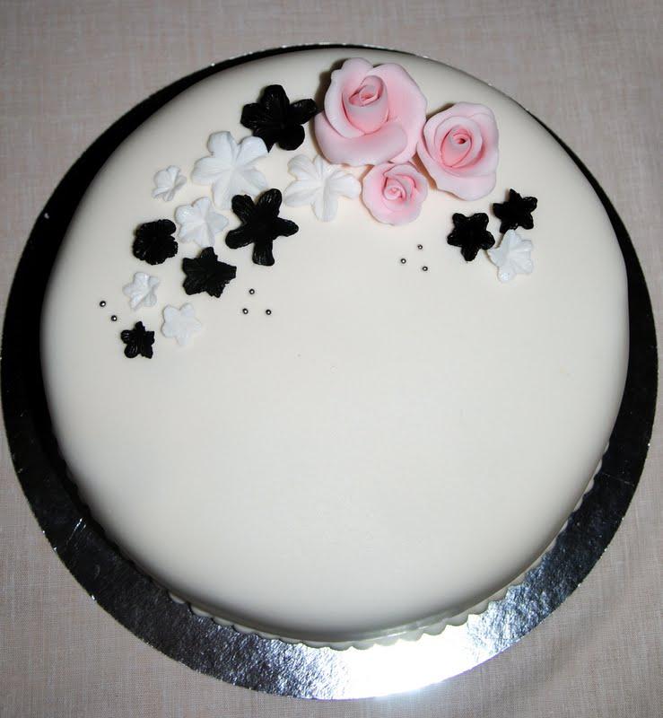 Flera lager tårta fyllningar