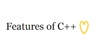 Features of CPP