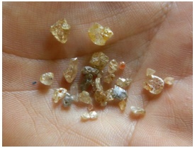 variedade de diamantes de Sorriso, Mato Grosso