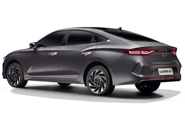 Hyundai Lafesta EV mostra como seria um Elantra elétrico