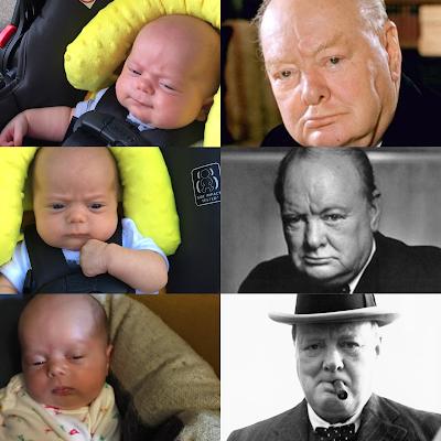 Baby vs Winston Churchill