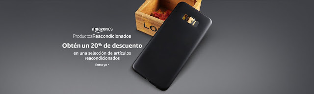 20% reacondicionados Vuelta al Cole Amazon
