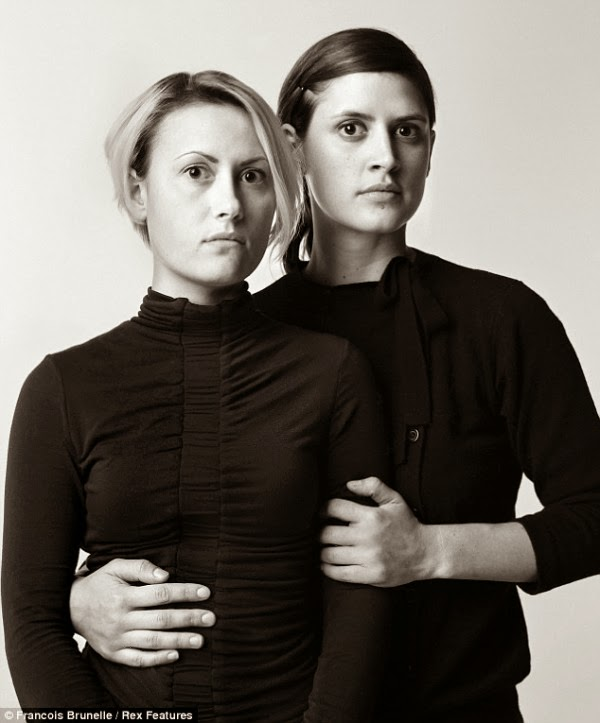 stunning portraits of doppelgangers
