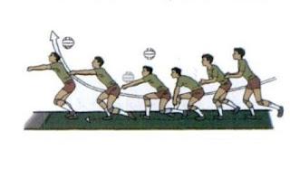 Passing Bawah ke Depan pada Bola Rendah