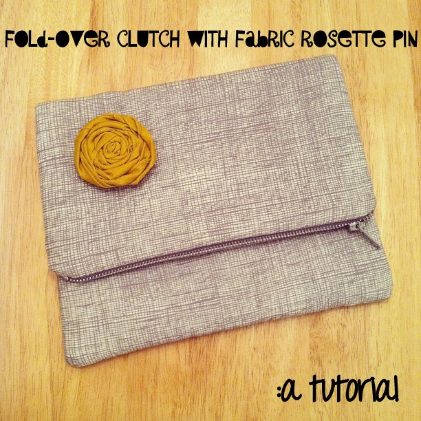 Tutorial: Fold-Over Clutch Bag