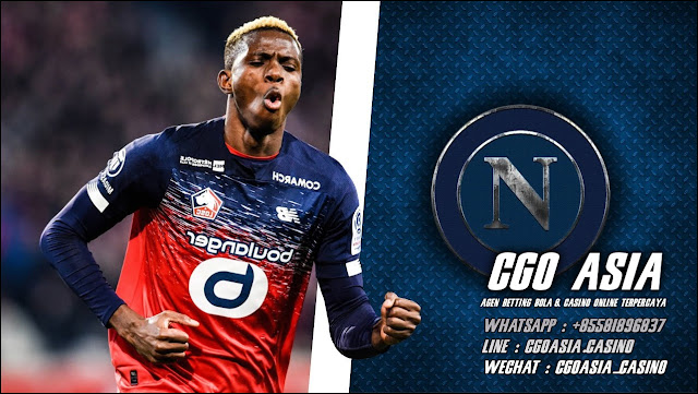 Victor Osimhen dikontrak Napoli dari Lille - Rumahsport.com