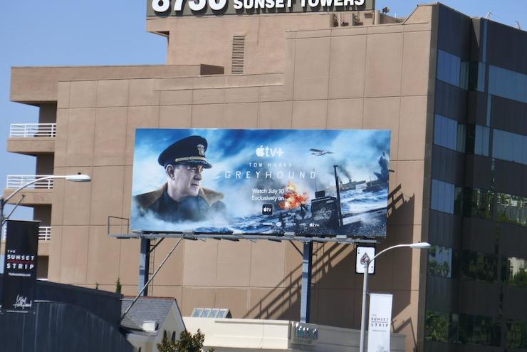 Greyhound Apple TV+ billboard