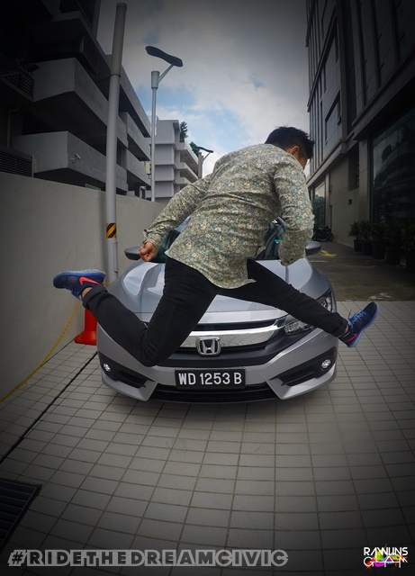 All New Honda Civic, Aloft Kuala Lumpur Sentral, Flyboard Malaysia, turbo engine Honda Civic, byrawlins, Ride The Dream Civic,