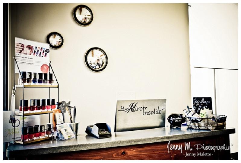 le miroir insolite salon de coiffure la chaize le vicomte