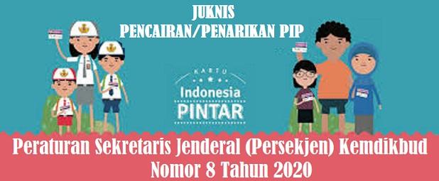 Penarikan Dana PIP SD SMP SMA SMK Tahun  JUKNIS PIP SD SMP SMA SMK TAHUN 2020/2021