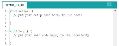l'éditeur de code Arduino IDE