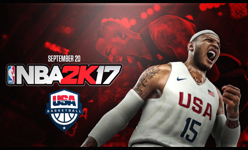 NBA 2K17 Team USA Exclusive Content