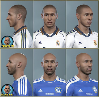 PES 2019 Faces Nicolas Anelka By Stels