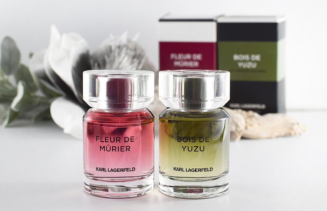 Karl Lagerfeld neue Düfte Fleur de Mùrier, Bois de Yuzu, Parfum für Damen und Herren