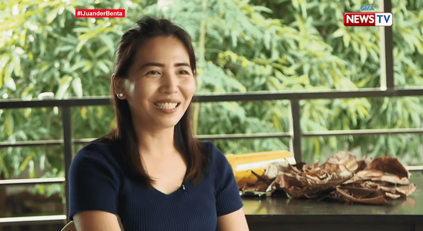 iJuander woman sells Talisay leaves online