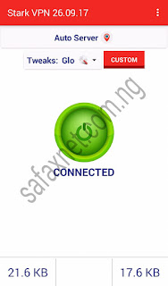 Stark VPN Settings For Glo Free Browsing Cheat November 2017