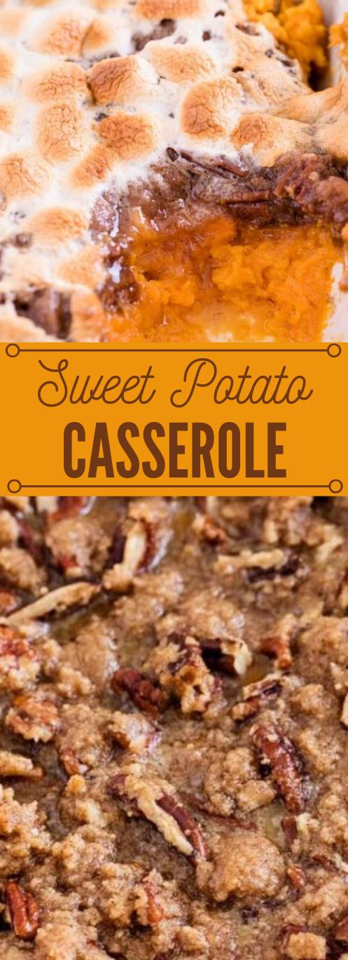 THE BEST SWEET POTATO CASSEROLE #vegetarian #vegan #casserole #potato #sweet