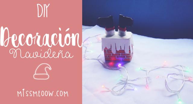 DIY: Decoración Navideña #RetoNavidadSweet