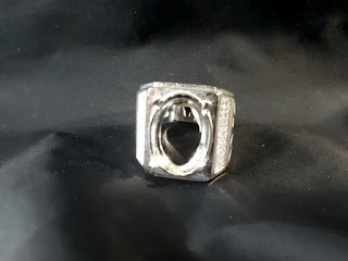 Ring Perak Hongkong 925 Micro Setting PRK047 Mewah Kombinasi Zircon Indah