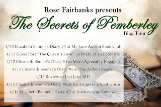 Blog Tour Schedule for The Secrets of Pemberley by Rose Fairbanks