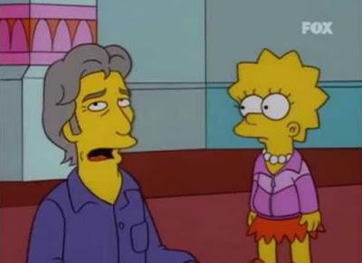 Se dobló a sí mismo en 'Los Simpson'
