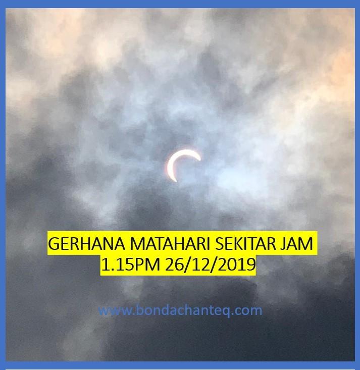 Fenomena Gerhana Matahari Anulus dan Separa di Malaysia