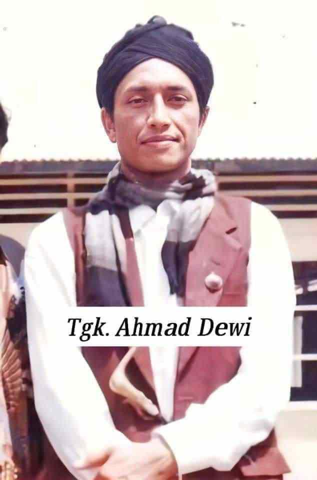 Tgk, Ahmad Dewi Lam Seujarah