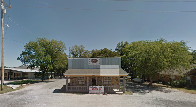 The original Smokin' Joe's BBQ in Davis Oklahoma