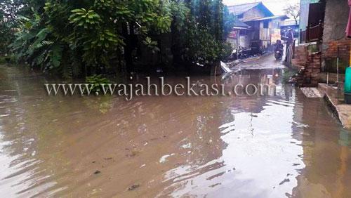 Kali Ulu Meluap, Warga Desa Karangharja Kebanjiran
