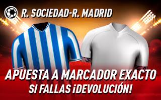 sportium Promo Real Sociedad vs Real Madrid 20-9-2020