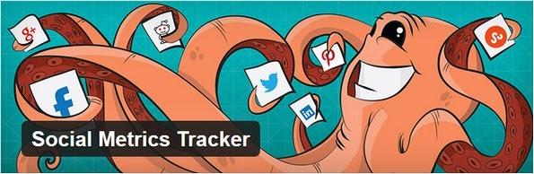 Social metrics tracker plugin for WordPress