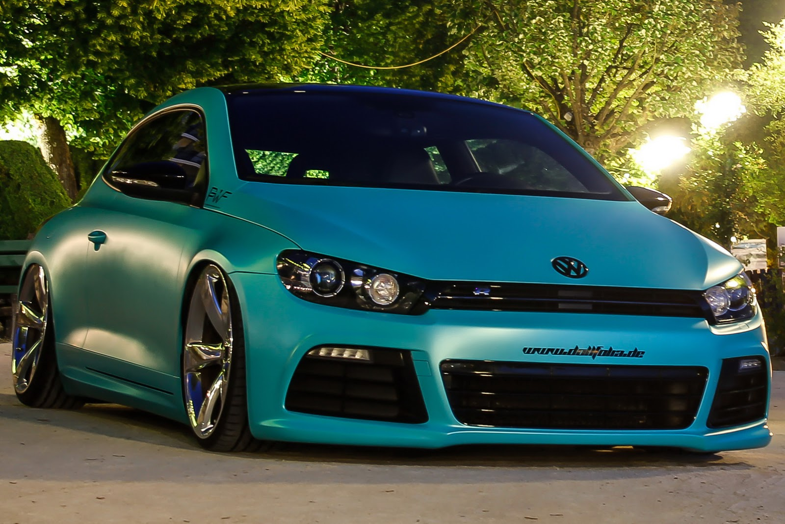 slammed vw scirocco r with 370ps is as minty fresh as they come. Black Bedroom Furniture Sets. Home Design Ideas