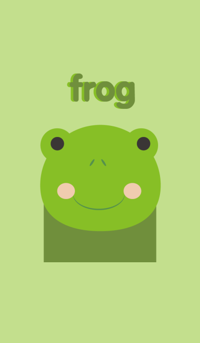 Cute frog theme