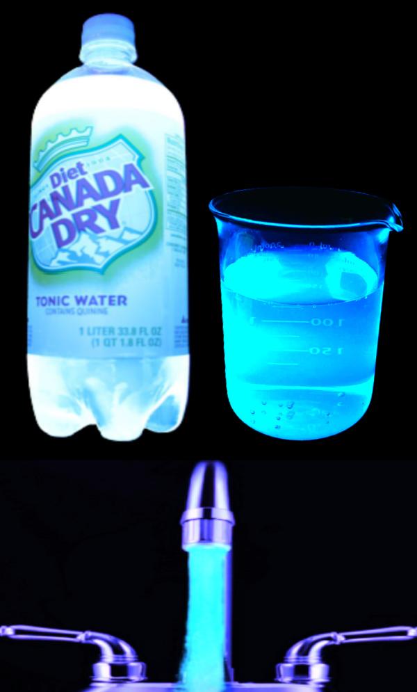 Make kids bath water glow using tonic water! #glowinthedark #glowingbathwater #outerspacecraftsforkids #howtomakewaterglow #growingajeweledrose